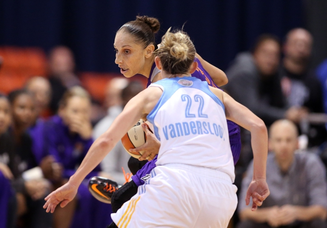 Chicago Sky vs. Connecticut Sun - 9/13/15 WNBA Pick, Odds, and Prediction