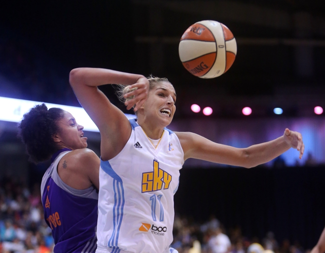 San Antonio Stars vs. Chicago Sky - 9/4/16 WNBA Pick, Odds, and Prediction