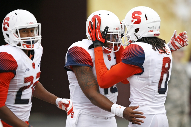 Maryland Terrapins at Syracuse Orange CFB Pick, Odds, Prediction - 9/20/14