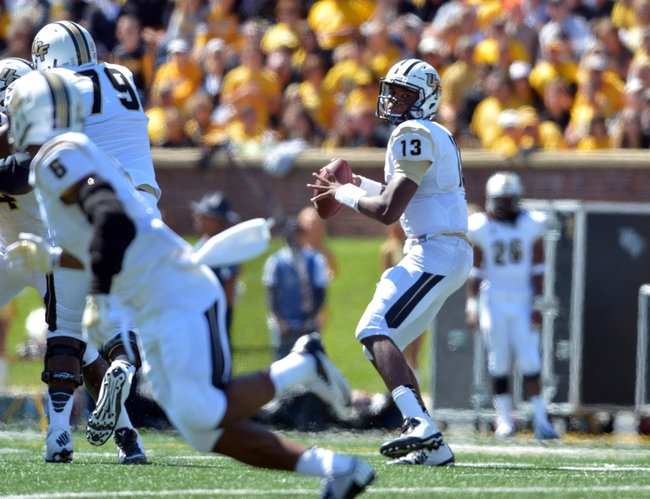 Central Florida Knights vs. BYU Cougars Pick-Odds-Prediction - 10/9/14