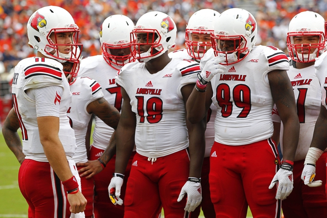 Florida International Golden Panthers vs. Louisville Cardinals Pick-Odds-Prediction 9/20/14