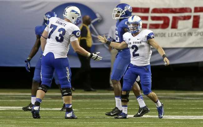 Georgia State Panthers at Air Force Falcons - 9/10/16 College Football Pick, Odds, and Prediction