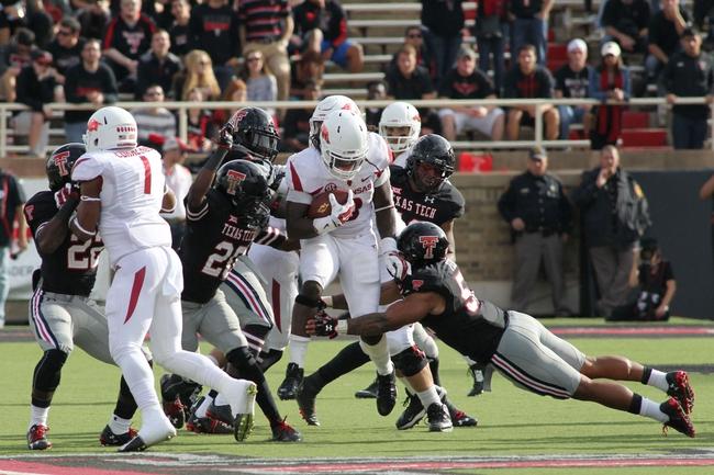 Arkansas vs. Texas Tech - 9/19/15 College Football Pick, Odds, and Prediction