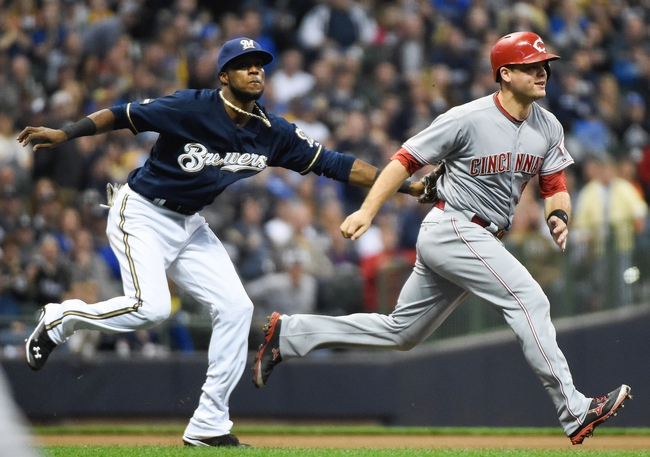 Milwaukee Brewers vs. Cincinnati Reds 9/14/14 MLB Pick and Odds
