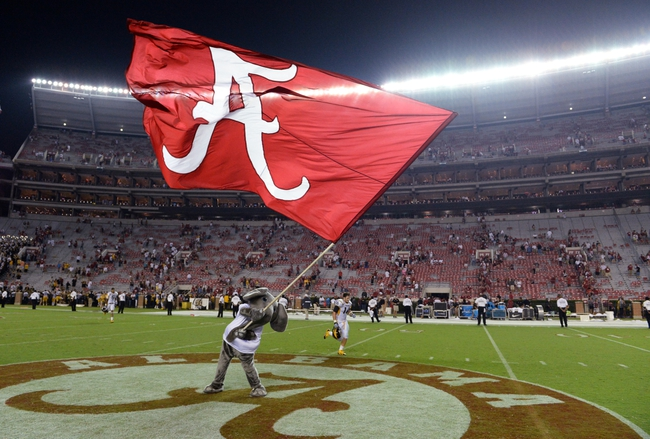Florida Gators at Alabama Crimson Tide CFB Pick, Odds, Prediction - 9/20/14