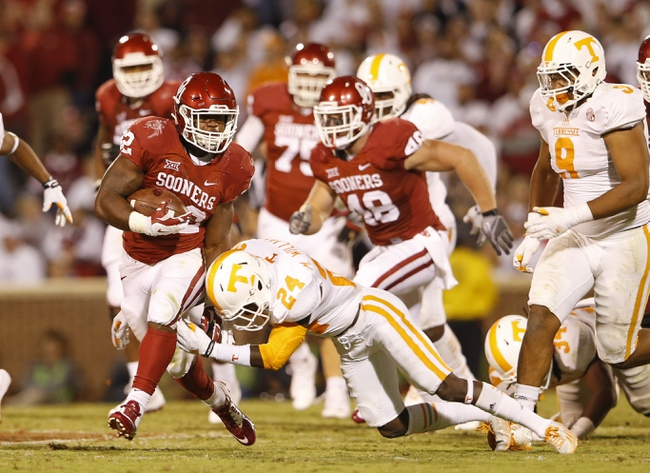 Tennessee vs. Oklahoma - 9/12/15 College Football Pick, Odds, and Prediction
