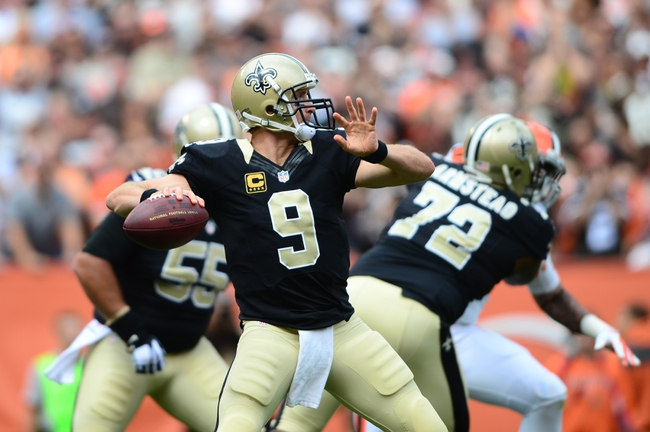 Minnesota Vikings at New Orleans Saints 9/21/14 NFL Pick, Odds, Prediction