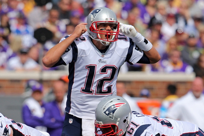 Oakland Raiders at New England Patriots 9/21/14 NFL Pick, Odds, Prediction