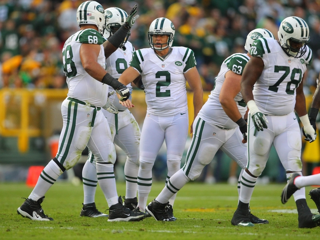 New York Jets vs. Chicago Bears - 9/22/14 NFL Pick and Odds