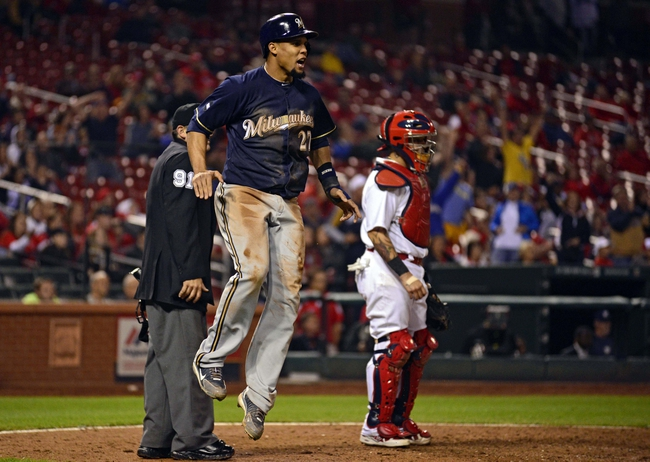 St. Louis Cardinals vs. Milwaukee Brewers MLB Pick, Odds, Prediction - 9/17/14