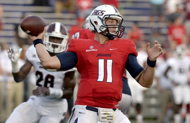 South Alabama Jaguars at Mississippi State Bulldogs - 9/3/16 College Football Pick, Odds, and Prediction