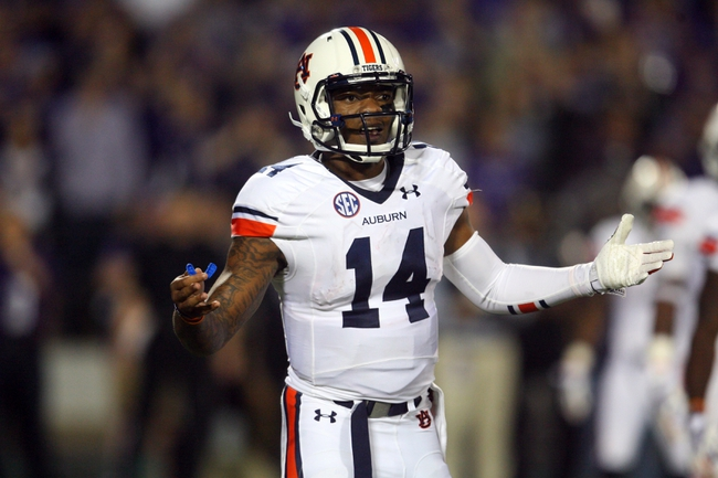 Auburn Tigers vs. Louisiana Tech Bulldogs 9/27/14 CFB Pick, Odds, Prediction