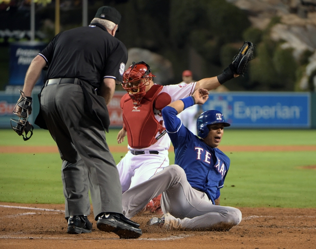Los Angeles Angels vs. Texas Rangers Pick-Odds-Prediction - 9/20/14