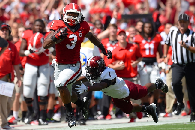 Georgia Bulldogs vs. Tennessee Volunteers 9/27/14 College Football Pick, Odds, and Prediction