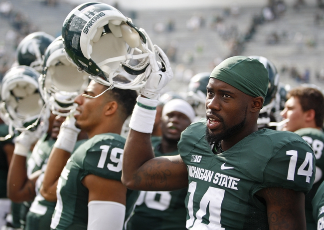 Michigan State Spartans vs. Wyoming Cowboys CFB Pick, Odds, Prediction - 9/27/14