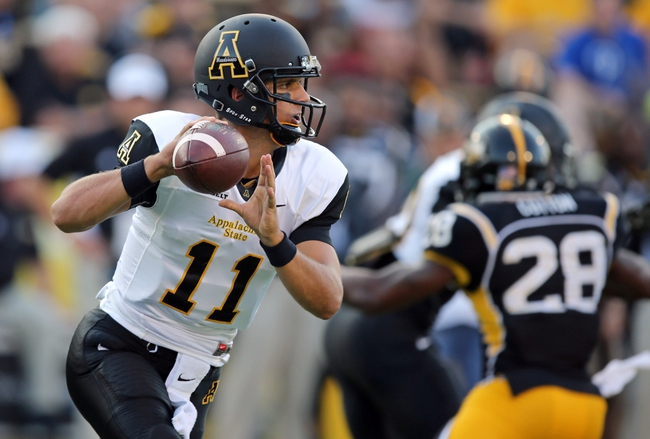 Appalachian State Mountaineers vs. Ga Southern Eagles - 10/22/15 College Football Pick, Odds, and Prediction