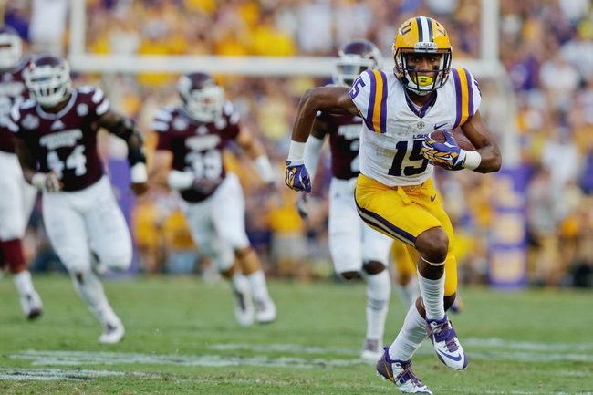 LSU Tigers vs. New Mexico State Aggies 9/27/14 CFB Pick, Odds, Prediction