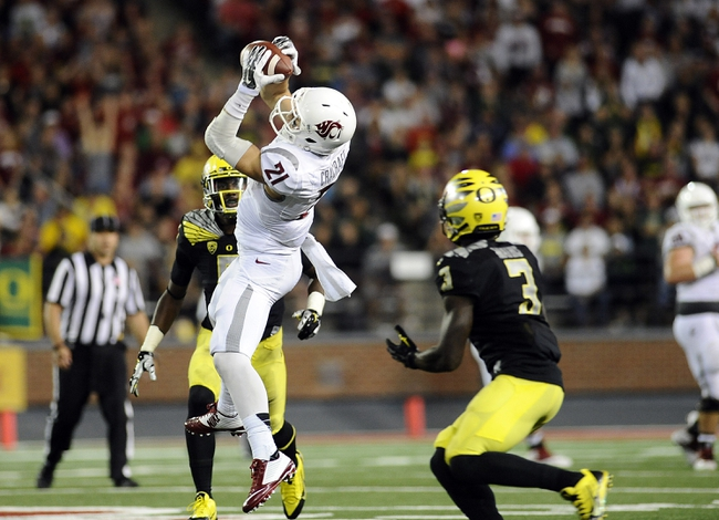 Washington State vs. California 10/4/14 Free CFB Pick, Odds, Prediction