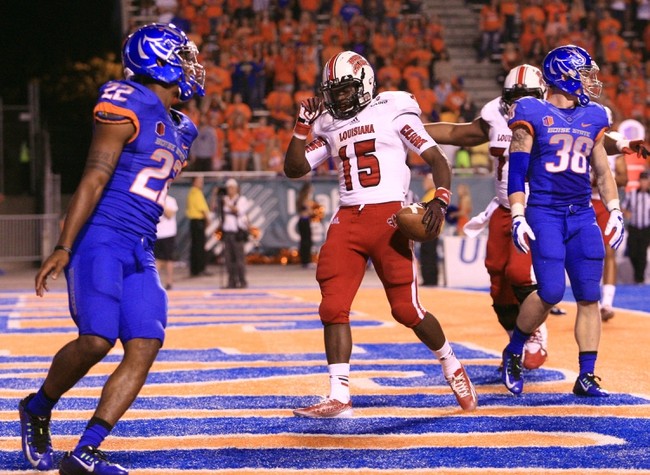 Boise State Broncos at Louisiana-Lafayette Ragin' Cajuns - 9/3/16 College Football Pick, Odds, and Prediction