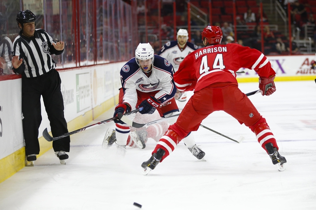 Columbus Blue Jackets vs. Carolina Hurricanes - 11/4/14 NHL Pick, Odds, and Prediction