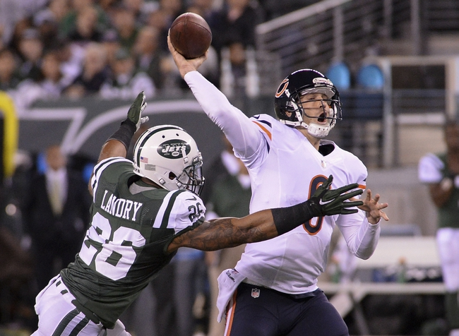 Chicago Bears at New York Jets 9/22/14 NFL Score, Recap, News and Notes
