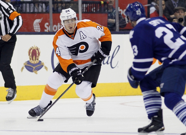 Maple Leafs vs. Flyers - 12/20/14 NHL Pick, Odds, and Prediction