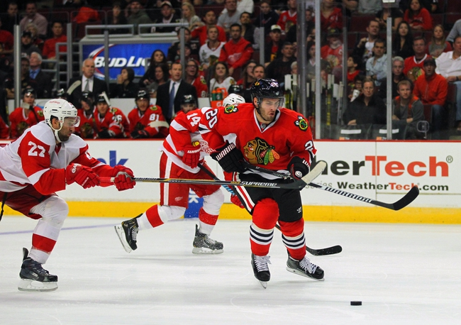Red Wings vs. Blackhawks - 11/14/14 NHL Pick, Odds, and Prediction