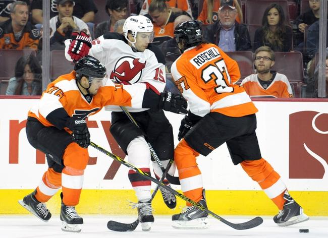 Philadelphia Flyers vs. New Jersey Devils - 10/9/14 NHL Pick, Odds, Prediction