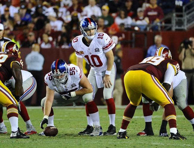 New York Giants at Washington Redskins 9/25/14 NFL Score, Recap, News and Notes