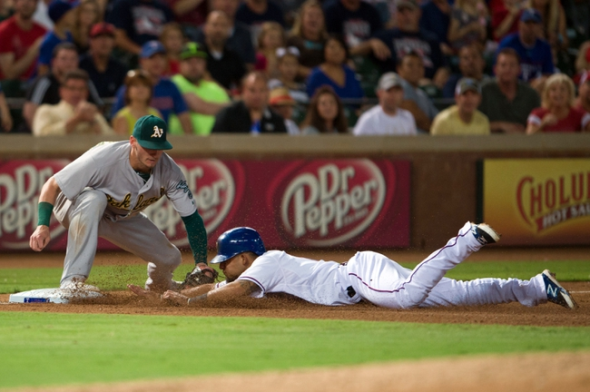 Texas Rangers vs. Oakland Athletics MLB Pick, Odds, Prediction - 9/27/14