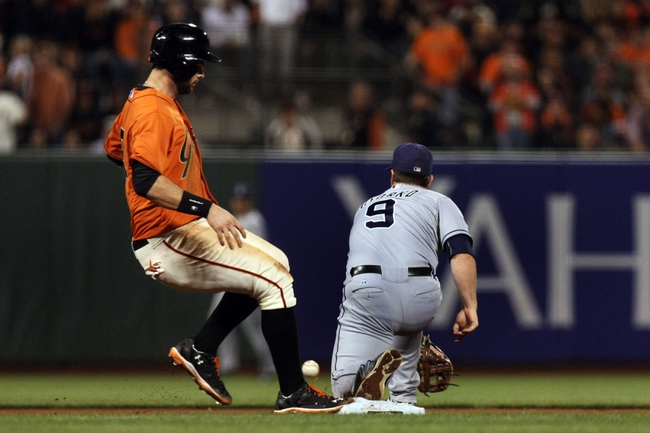 San Francisco Giants vs. San Diego Padres Pick-Odds-Prediction - 9/27/14
