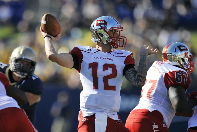 Western Kentucky Hilltoppers vs. Old Dominion Monarchs Pick-Odds-Prediction - 10/25/14