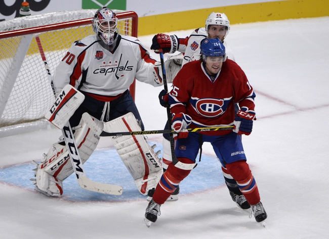 Washington Capitals vs. Montreal Canadiens - 10/9/14 NHL Pick, Odds, Prediction