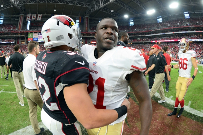 49ers vs. Cardinals - 12/28/14 NFL Pick, Odds, and Prediction