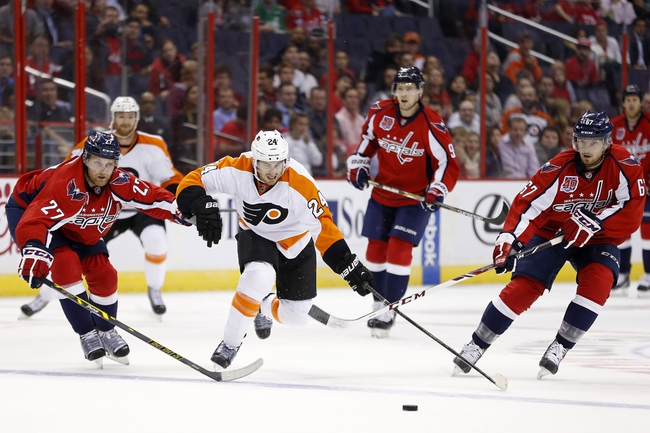 Flyers vs. Capitals - 1/8/15 NHL Pick, Odds, and Prediction