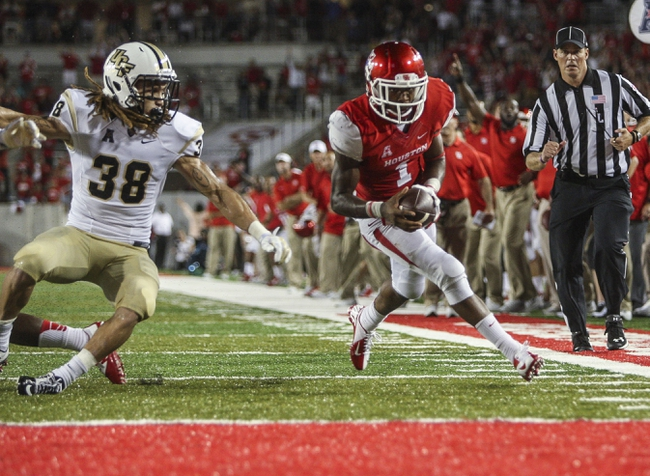 Central Florida Knights vs. Houston Cougars - 10/24/15 College Football Pick, Odds, and Prediction