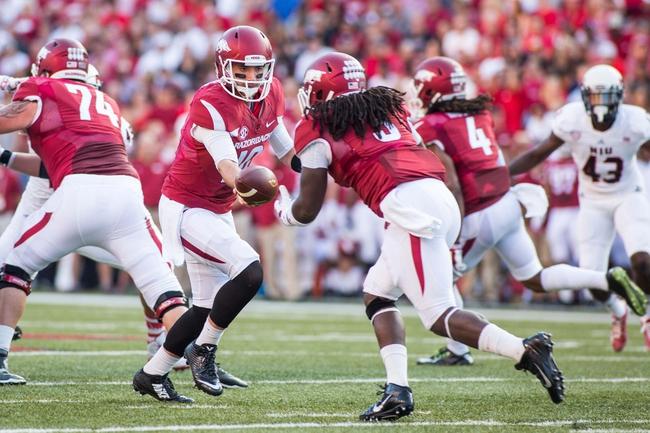 Arkansas vs. Alabama 10/11/14 SEC College Football Pick, Odds, and Prediction