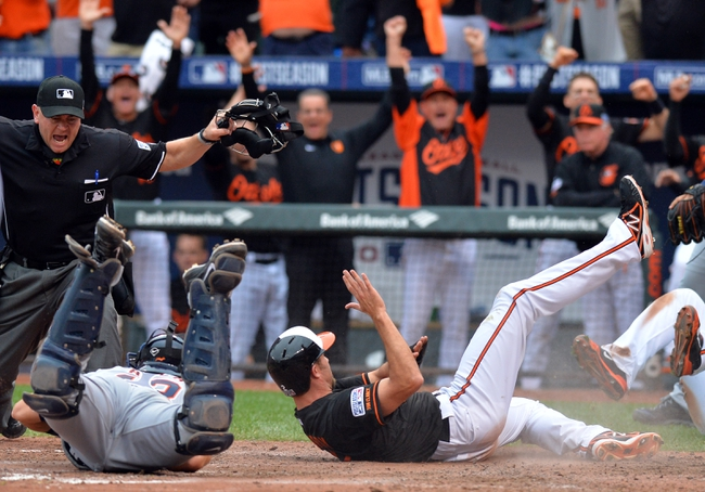 Detroit Tigers vs. Baltimore Orioles Pick-Odds-Prediction - 10/5/14 ALDS Game Three