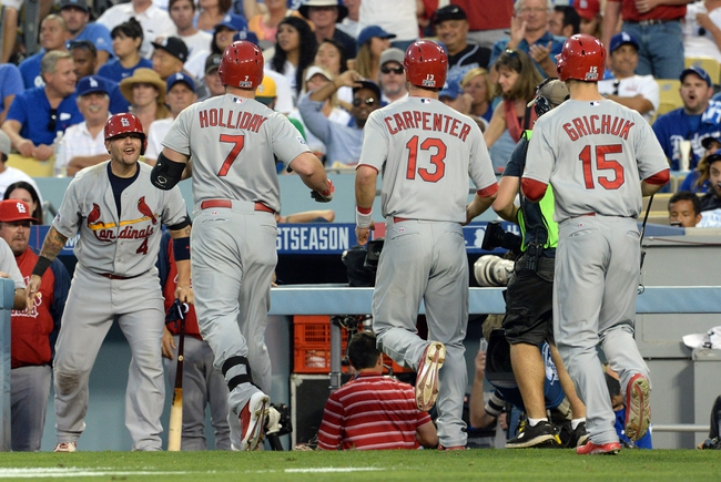 Los Angeles Dodgers vs. St. Louis Cardinals Pick-Odds-Prediction - 10/4/14 NLDS Game Two