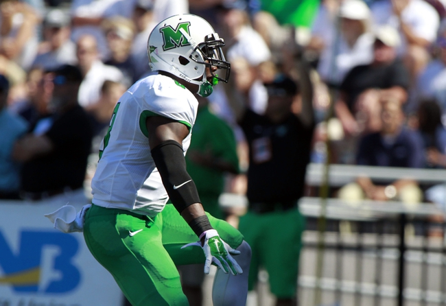 Marshall Thundering Herd vs. Rice Owls - 11/15/14 College Football Pick, Odds, and Prediction