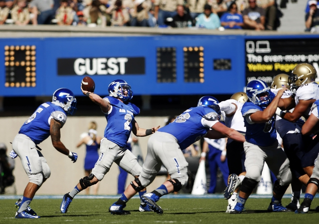 Utah State Aggies vs. Air Force Falcons Pick-Odds-Prediction - 10/11/14