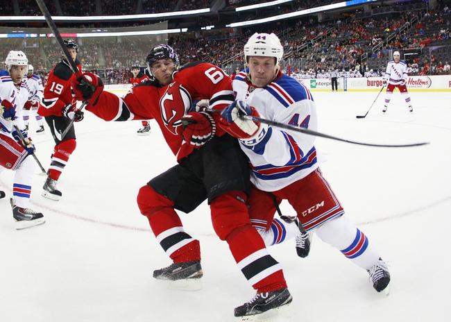 New Jersey Devils vs. New York Rangers - 10/21/14 NHL Pick, Odds, Prediction