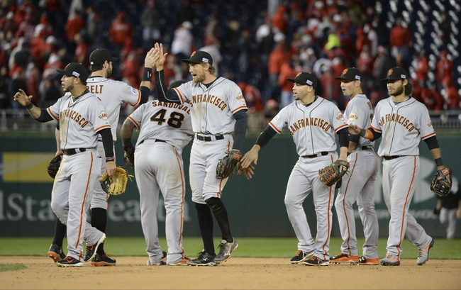 Washington Nationals at San Francisco Giants - 10/6/14 2014 NLDS Pick, Odds, Prediction