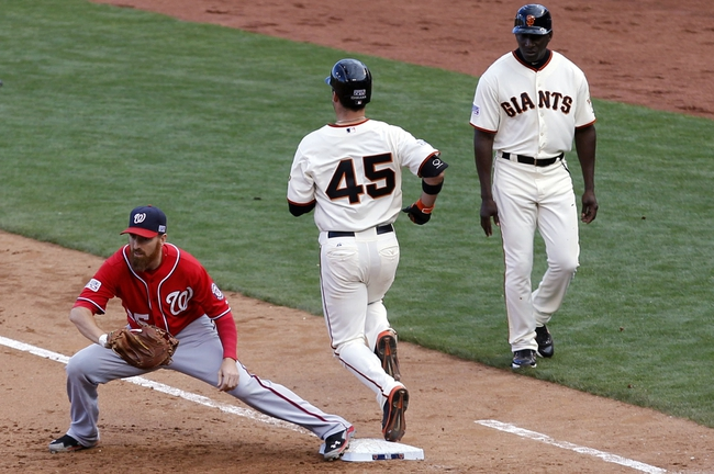 Washington Nationals at San Francisco Giants - 10/7/14 2014 NLDS Pick, Odds, Prediction