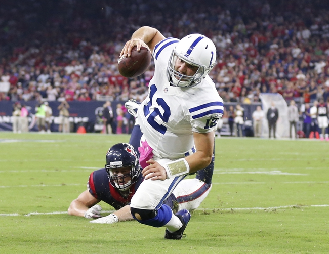 Indianapolis Colts at Houston Texans 10/9/14 NFL Score, Recap, News and Notes