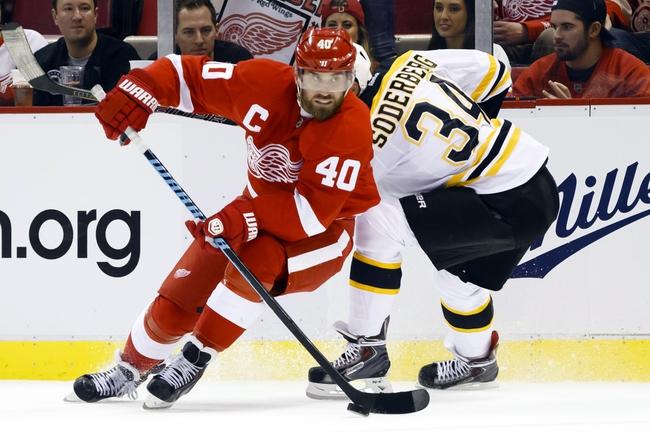 Detroit Red Wings vs. Boston Bruins - 10/15/14