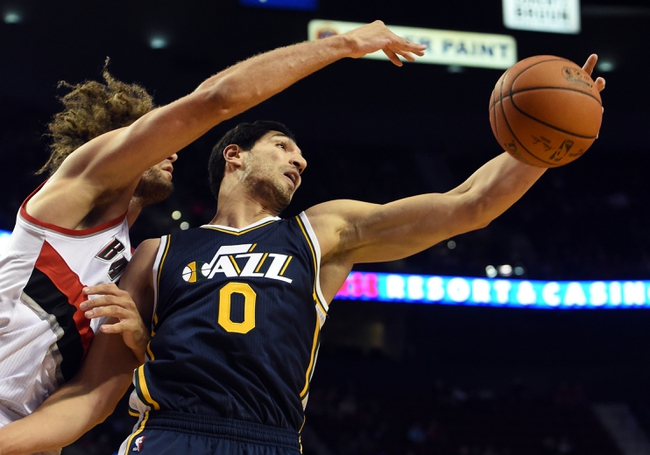 Jazz at Trail Blazers - 2/3/15 NBA Pick, Odds, and Prediction