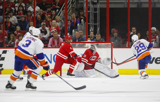 New York Islanders vs. Carolina Hurricanes - 10/11/14 NHL Pick, Odds, Prediction