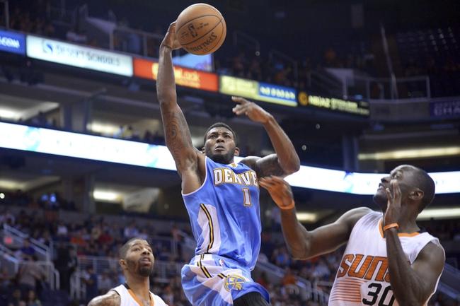 Phoenix Suns vs. Denver Nuggets - 11/26/14 NBA Pick, Odds, and Prediction