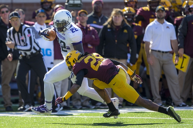 Minnesota Golden Gophers vs. Northwestern Wildcats - 10/3/15 College Football Pick, Odds, and Prediction
